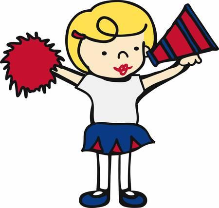 cheer leader: Una animadora es un so�ador que nunca se rinde.