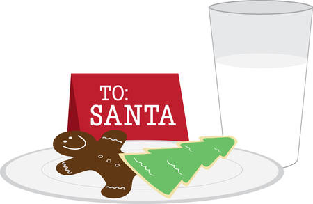 Celebrate your favorite part of Christmas with these cookies for Santa.