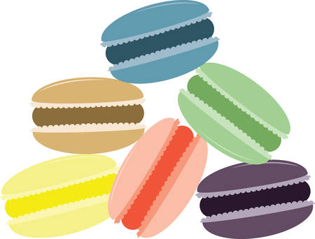 Deze bitterkoekjes zal een smakelijke aanvulling op uw cookie project. Stockfoto - 41243027