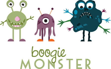 mythological character: A monster is any creature, usually found in legends designs by Concord!