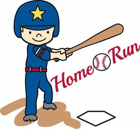 batting: Baseball batting boy swinging at a ball.
