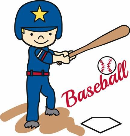 little league: Baseball batting boy swinging at a ball.