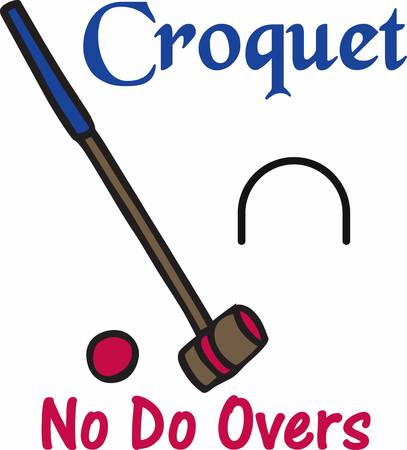 overs: The game of golf would lose a great deal if croquet mallets and billiard cues were allowed on the putting green