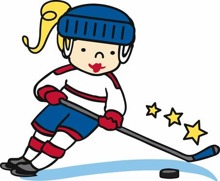 ice hockey player: Hockey lovers will like a fun player on the ice.