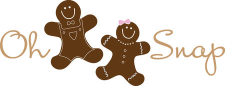 Celebrate your favorite part of Christmas with these gingerbread cookies.