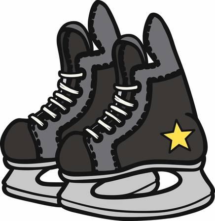 hockey players: Hockey players will love a nice game equipment design.