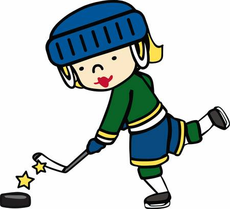 ice hockey player: Hockey lovers will like a player on the ice.