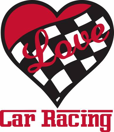 motorsport: Show that you have given your heart to the sport.