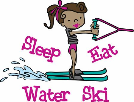 Water Ski is a famous water adventure game pick these designs from concord collections