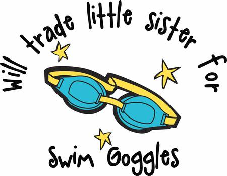 Swim goggles helps us to prevent water from getting in the eyes while swimming