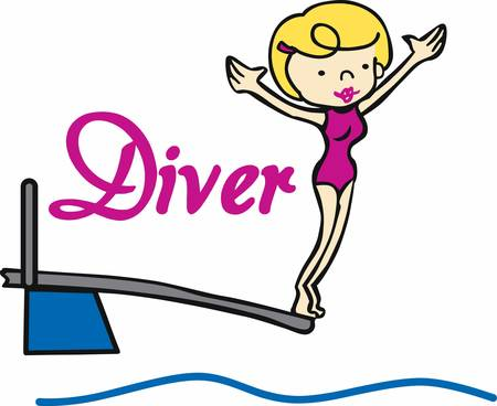 diving board: Get these springboard woman designs from Concord collections