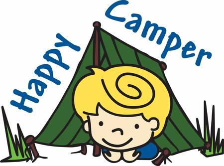 Camping is an outdoor adventure grab these camping boy designs from concord collections