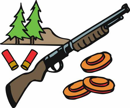 Shotgun is a popular gun for hunting pick these designs from concord collections.