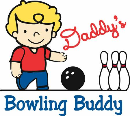 Bowling is an unique ball game pick these bowling boy designs from concord collections Stock Vector - 41243915