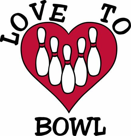 spare: Everybody love Bowling as a very good entertaining game have these designs from concord collections Illustration