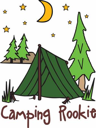 campground: Tent camping is a part of an adventure journey pick these designs from concord collections