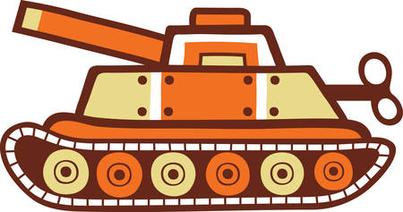 Pick these Toy Tank designs for fun from concord collections 向量圖像
