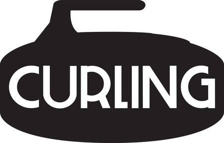 컬링은 흥미 진진한 스포츠 경쟁 스포츠입니다.
