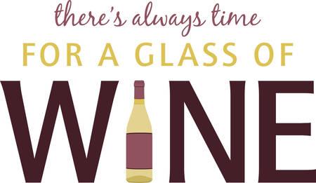 blanc: Redacci�n de vino con botella de vino blanco para la barra o la cocina dise�os.