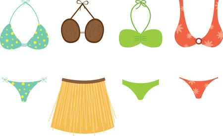 swim suit: Use this swim suit design for a fun summer project.