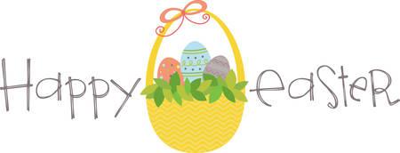 甘いイースター プロジェクトのこの卵のバスケットを使用します。