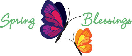 Spring Butterfly makes your garden very beautiful. Pick those design by Concord.