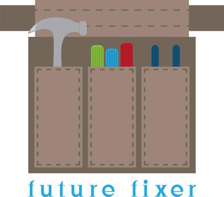 Utilice estas herramientas para su fixerupper favorito. Foto de archivo - 41353500