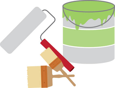 Use this paint bucket for a shirt pocket. Çizim
