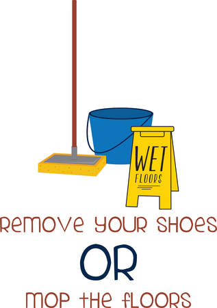 dirty hands: A mop bucket cart or mop trolley is a wheeled bucket that allows its user to wring out a wet mop without getting the hands dirty pick those designs by concord Illustration