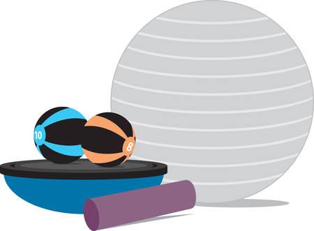 sport mats: It never gets easier you just get better Illustration