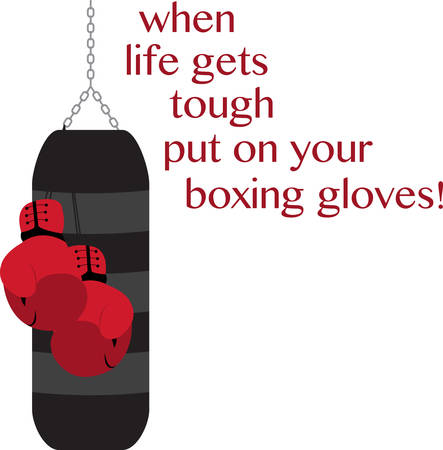 punching bag: A punching bag is a sturdy bag designed to be repeatedly punched find them on concord designs