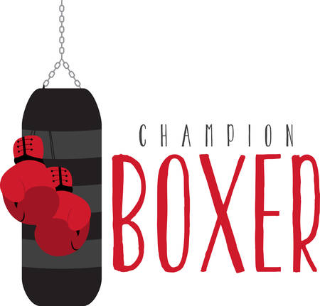 punching: A punching bag is a sturdy bag designed to be repeatedly punched find them on concord designs