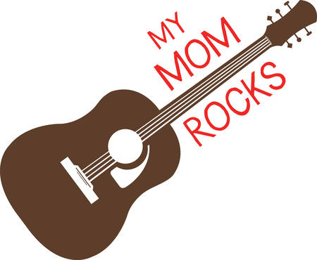 Guitars rock  Get this design to add to a gift for a teenager.  They will love it.