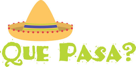 brim: Here is a big broadbrimmed felt Sombrero for you Enjoy the Mexican feel Illustration