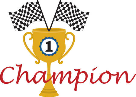 avid: Any avid racer will enjoy this trophy.