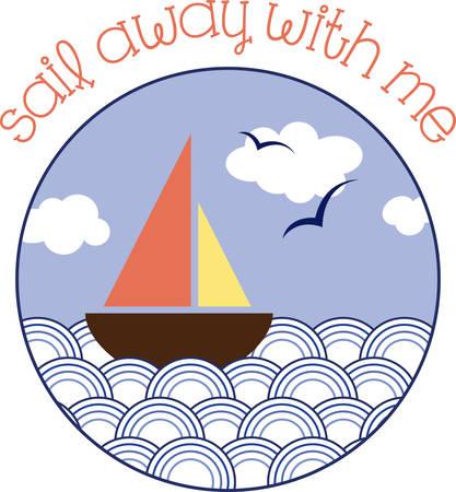 Sail is een stuk materiaal uitgebreid op een mast aan de wind te vangen