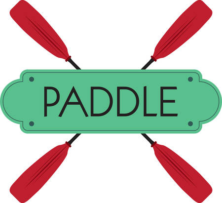 A paddle is a tool used for pushing against liquidsfind them on concord designs