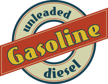 concord: find the collection of gasoline logos from concord designs Illustration
