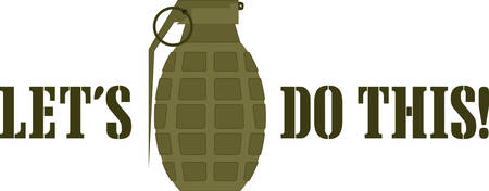 this: Use this grenade for a tshirt.
