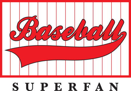 sports jersey: Use this baseball logo for your little slugger.