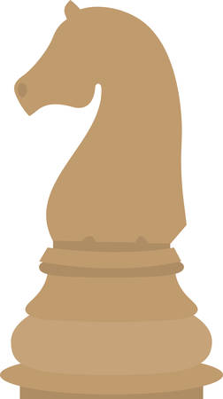 Use this knight piece for a chess master.