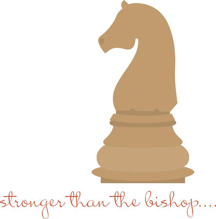 stronger: Use this knight piece for a chess master.