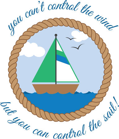 You cant control the wind  but you can control the sail . Pick those design by Concord. Ilustrace