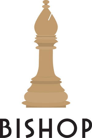 bishop: Use this bishop piece for a chess master.