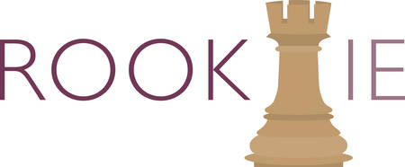 rookie: Use this rook piece for a chess master.