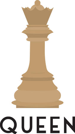 chess player: Use this queen for a chess player.