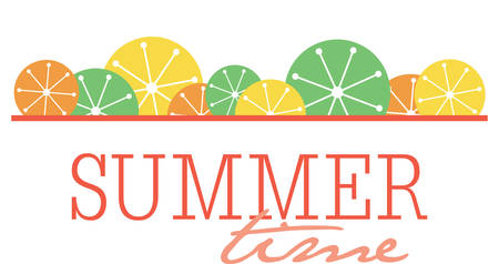 Use this summer border for a fun seasonal project.