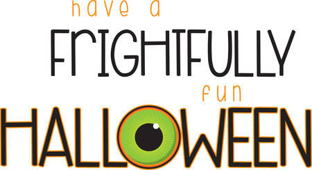 eye ball: A scary eye ball will make a great Halloween decoration.