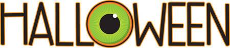 eye ball: A scary eye ball will make a great Halloween decoration.