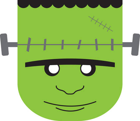 frankenstein: Frankenstein will make a great Halloween decoration.